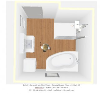 Plans 3d Meli Deco Interieur Meli Deco Peintre Decoratrice D