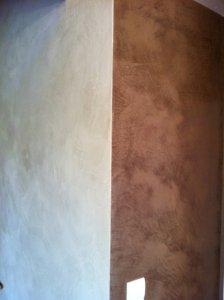 enduit à chaux décoration d'intérieur en aveyron